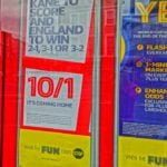 betting odds window poster
